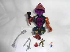 Mighty Max Battle Conquerer Action Figure Complete Set Playset Bluebird Toys