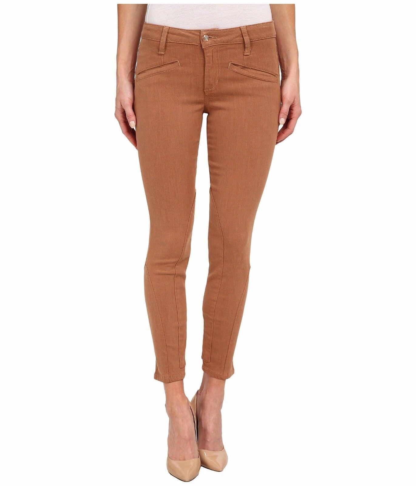 Joe's Jeans Flawless Mustang Skinny Ankle Denim Pants Suede Wash 28  189 Nwt