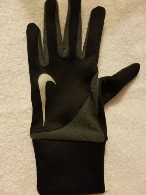 81832b299f NIKE Womens DRI FIT TAILWIND RUNNING GLOVE Small Black left hand REPlace  Glove