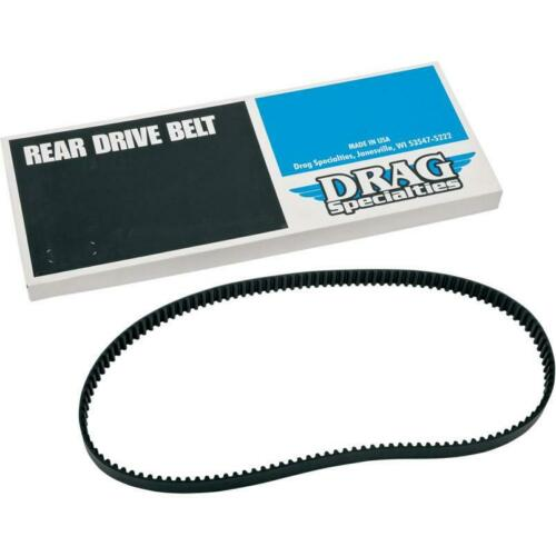 "Drag Specialties 1204-0042 128 Tooth 1 1//8/"" Rear Drive Belt Harley Sportster"