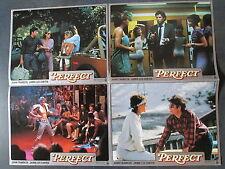 PERFECT - 5 Aushangfotos - John Travolta, Jamie Lee Curtis