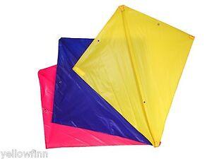Brookite Stunt Kite No 2 Assorted Colours Outdoor Fun Diamond Kids Stunt Kite