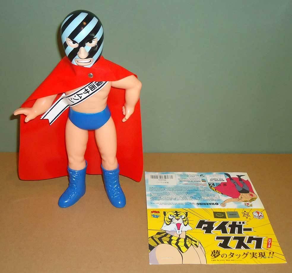 Medicom Toy - Samson (Tiger Mask) - Sofubi Toy sofvi japan 覆面サムソン