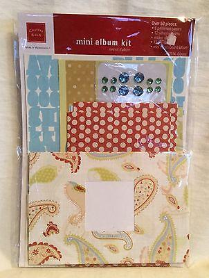 Chatterbox Mini Scrapbook Kit Album Paper Stickers Gems - Gazebo - 50+ Pieces Kwaliteit En Kwantiteit Verzekerd