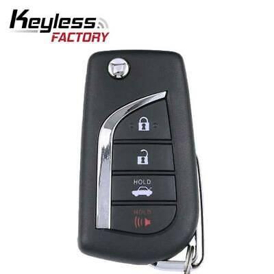 2018 OEM Toyota Camry and Camry Hybrid Remote Flip Key 4B Fcc HYQ12BFB
