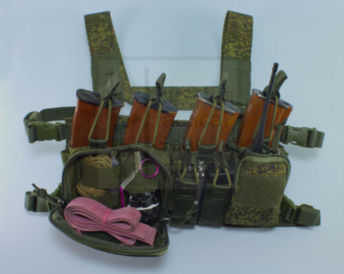 MBC Russian D3CR-H Heavy Tactical Chest Rig EMR Digital Flora