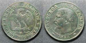 Napoleon-III-5-centimes-1854-MA-TB