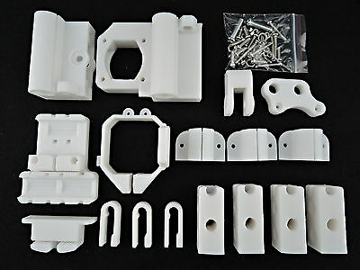 3D Printer Plastic Printed Part Frame Kit for MK8 Extuder Reprap Mendal Prusa i3