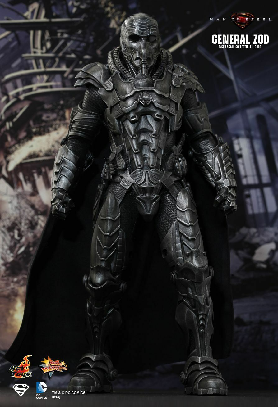 HOT TOYS 1 6 DC MAN OF STEEL SUPERMAN SUPERMAN SUPERMAN MMS216 GENERAL ZOD MASTERPIECE FIGURE 49fcfb