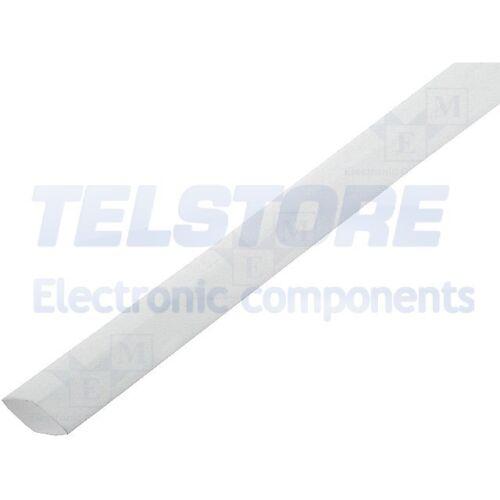 5m  Guaina termorestringente 2 1 3,2mm L 1m bianco poliolefina TELSTORE