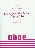 Kalliwoda Morceau De Salon Op228 Hautbois-afficher Le Titre D'origine Artisanat Exquis;