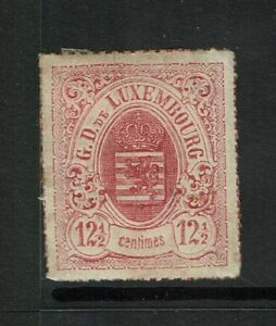 Luxembourg-Sc-20-Comme-neuf-Charniere-charniere-page-Restes-S775