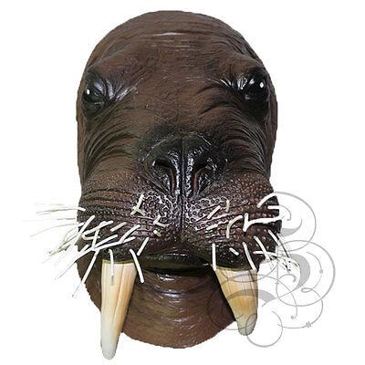 Latex Walross Kopf Party Maske - Halloween Junggesellenabschied Requisiten