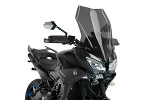 YAMAHA-MT-09-850-TRACER-GT-2018-gt-PUIG-SCREEN-DARK-SMOKE-TOURING-WINDSCREEN