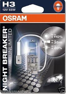 OSRAM-UN-LAMPARA-COCHE-H3-NOCHE-BREAKER-UNLIMITED-110-luz-40-mt-20-arriba