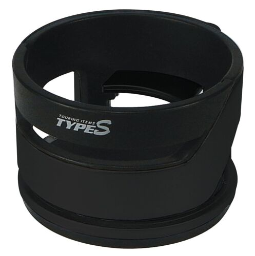 TYPE S UNIVERSAL CAR VAN INTERIOR 2G DRINKS CUP CAN HOLDER BLACK CLIPS ONTO VENT