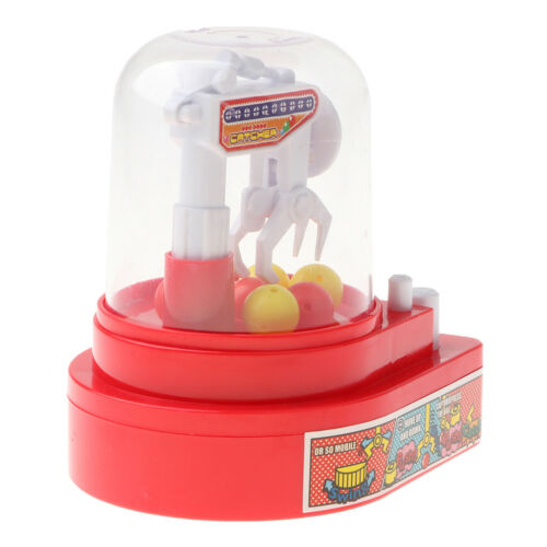 Kids Arcade Candy Grabber Machine Toy Claw Ball Game Fairground Crane Sweet Grab