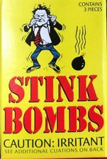9 GLASS STINK BOMBS  ~ stinky smelly crap turd puke odor gag prank joke