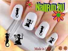 "RTG Set#542 IMAGE ""Fairy and Mermaid"" WaterSlide Decals Nail Art Transfers Salon"