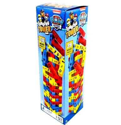 NEW IN BOX PAW PATROL TUMBLING TOWER GAME