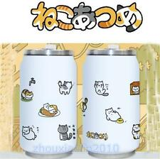Japanese Game Neko Atsume ねこあつめ Cute Cat Stainless Steel Vacuum Bottle Cup Gift