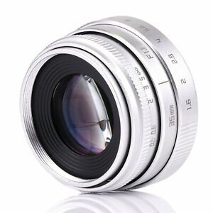 FUJIAN 35mm f1.6 C mount CCTV Lens II for N1 Fujifilm FX NEX Micro 4/3 EOS M SLV