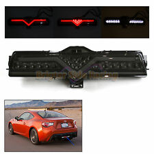 SMOKED LED 3RD BRAKE REVERSE TAIL REAR BUMPER LIGHT F1 STYLE FOR SCION FR-S/BRZ