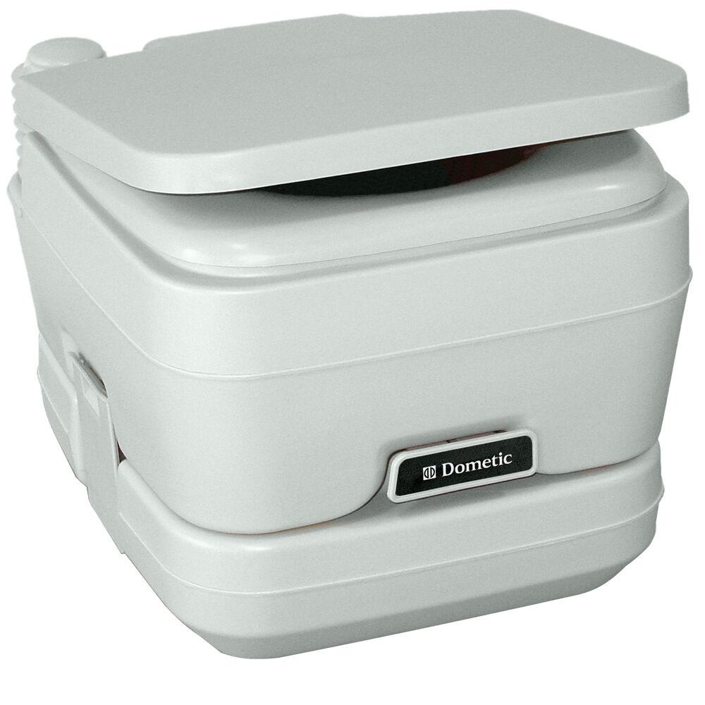Dometic - 964 MSD Portable Toilet 2.5 Gallon Platinum model 311196406