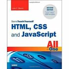 HTML, CSS, and JavaScript All in One, Sams Teach Yourself: Covering HTML5, CSS3, and jQuery by Julie C. Meloni (Paperback, 2014)