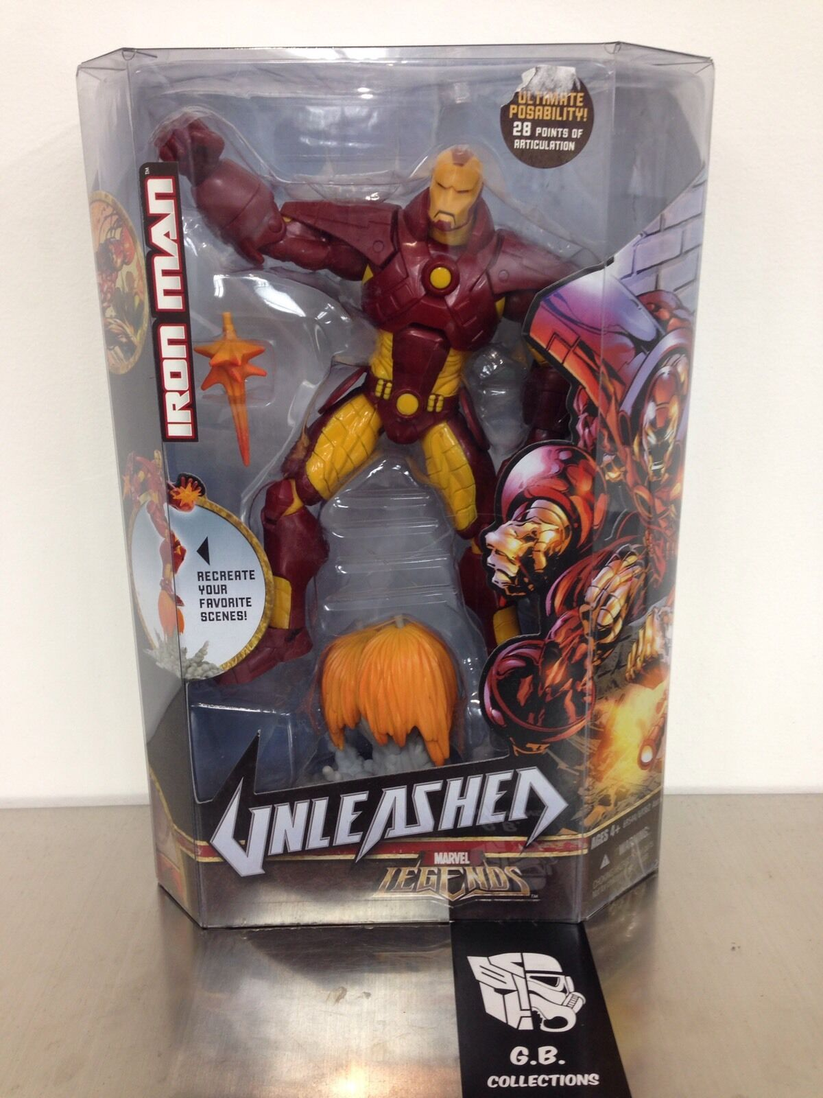 Marvel Legends Unleashed Iron Man  Action Figure New Sealed