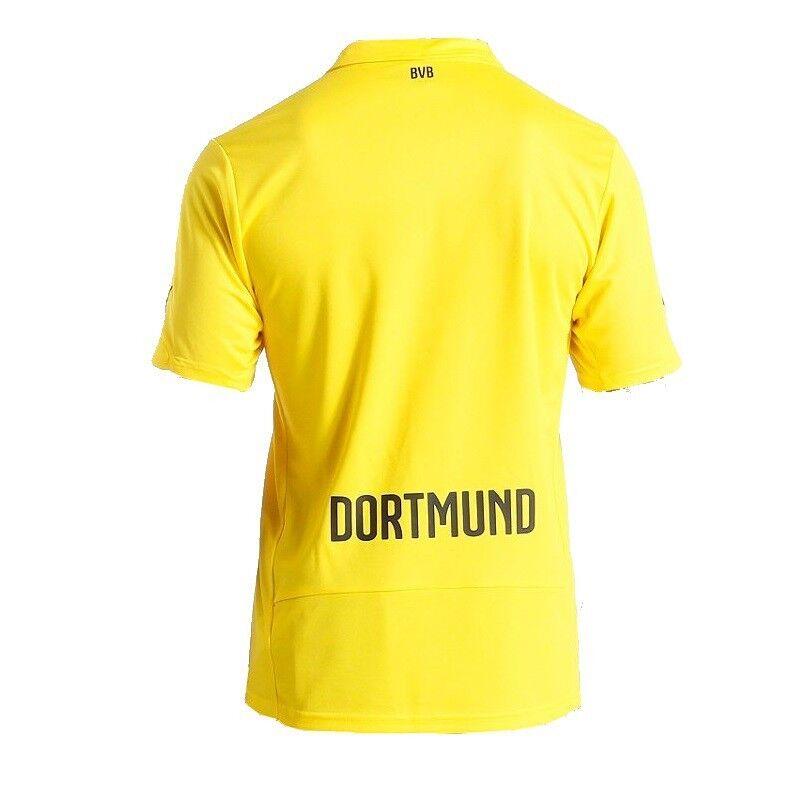 PUMA Trikot BVB Borussia Dortmund Championsleague Trikot PUMA gelb Saison 2014/2015 3d2324