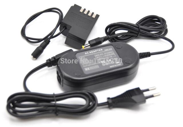 DMW-AC8 DMW-DCC12 Power2000 AC-BLF19E AC Adapter /& DC Coupler for Panasonic GH3 GH4 and GH5