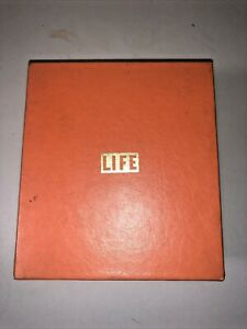 Vintage LIFE Magazine Recipe Card  Set -   Recipes In Original Index Box 1960's