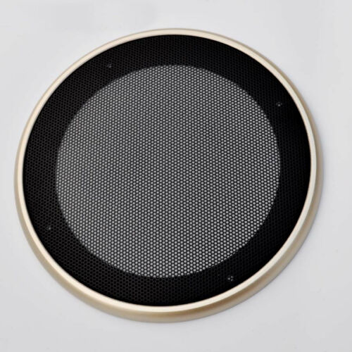 "1pcs 4/""//5/""//6.5/""//8/""//10/"" inch Speaker Cover Decorative Circle Metal Mesh Grille"