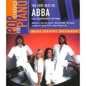 leicht ANFÄNGER sehr leicht Klavier Noten : ABBA Easiest 5 Finger Collection