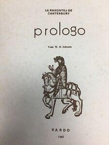 Prologo-Esperanto