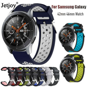 Silicone-Watch-Bracelet-Strap-Band-For-Samsung-Galaxy-Watch-42mm-46mm-Gear-S2-S3
