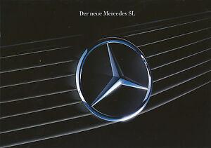 Mercedes-SL-R-129-Prospekt-1990-1-90-16-S-Katalog-brochure-300-300-24-500-Auto