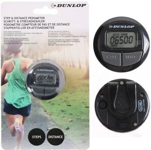 Dunlop-LCD-Step-Distnace-Pedometer-Walking-jogging-Counter-Fitness-Track-Clip-UK