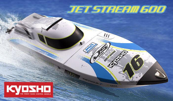 Kyosho Jet Stream 600 fábrica Radio Control Barco-ensamblado Eléctrico - 40132T2B