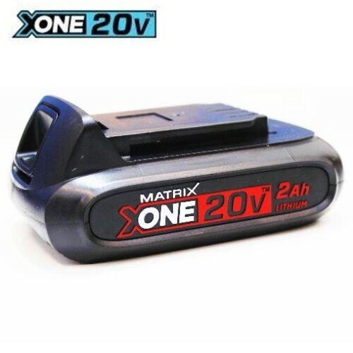 2.0 Ah-Red Li-ion nouveau modèle Matrice X-ONE 20-batterie 20 V