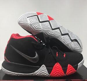 super popular 66abc 1ea0b Details about Nike Men Kyrie 4 Black-Dark Grey-Crimson sz 10.5 [943806-005]