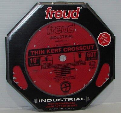 """NEW FREUD TOOLS LU88R010 10/"""" x 60T THIN KERF FINE FINISH CROSSCUT BLADE"""