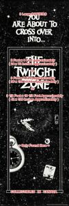 TWILIGHT-ZONE-You-Are-About-To-Cross-Over-Into-POSTER-3-Sizes-6-or-9-or-10-5-FT