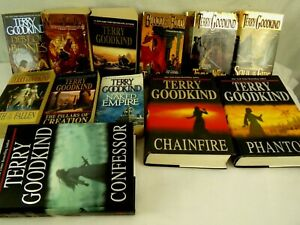 Set-of-12-Sword-of-Truth-Books-by-Terry-Goodkind-1-12-in-Series-Lot