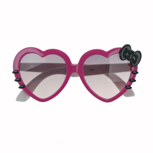 Kids Girls Boys Anti UV Bow Glasses Sunglasses Cartoon Heart Glasses Fashio P0KH