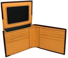 Portafoglio Pelle La Martina Uomo  slots porta carte Dark yellow 225011