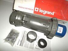 New Passampseymour 4100p9w 100 Amp Pinampsleeve Plug Hbl4100p9w 100a 250v 3p4w