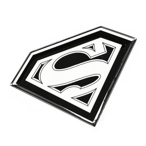 New Superman Chrome Domed Emblem Decal Badge for car truck bike hood trunk back