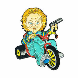 Image Is Loading Chucky Doll Big Wheel Cult Of Chucky Horror